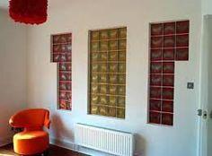 """Résultat de recherche d'images pour """"baños con bloques de vidrio y luces"""" Glass Brick, Bookcase, Entryway, Shelves, Architecture, Bricks, Projects, Furniture, Home Decor"""