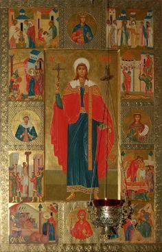 икона св.Татианы из Татьянинской церкви при МГУ