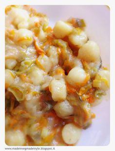 Made in Veg...Made in Yle: gnocchi fiori di zucca e calendula #vegan #gf #glutenfree