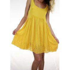 sunshine-dress, Style hub
