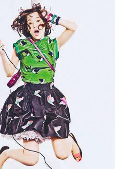 Kiko Mizuhara GISELE Japan Magazine Scans (2)
