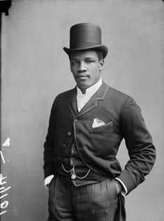 Images of black people in 19th century Britain found in the London warehouse of the Hutton archives are on show at the Ethelbert Cooper Gallery of African American Art in Cambridge Mass.