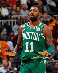 Kyrie Irving aka Byrie aka MVP (not debating this) 35pts 3reb 7ast. He was too clutch. Nov. 6 ( 9-2) vs ATL