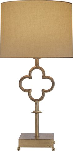 Quatrefoil lamp by Suzanne Kasler for Visual Comfort