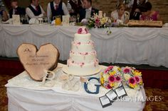Rustic Heart Log - Loved you Yesterday, Love you still. Wedding Cake Stands, Wedding Cakes, Handmade Wedding, Rustic Wedding, Rustic Theme, Reception Decorations, Treats, Heart, Unique