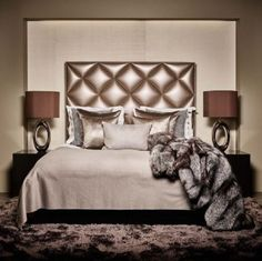 Shop Chairish, the design lover's curated marketplace for the best in vintage and contemporary furniture, decor and art. Matching Bedding And Curtains, Grey Bedding, Luxury Bedding, Bedding Sets, Glam Bedroom, Bedroom Black, Master Bedroom, Bedroom Decor, Living Single