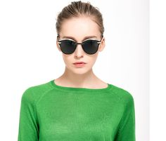 a806a79986 Gafas De Sol Espejo Polarizadas Mariposa Con 100% Protección UV400  Polarizadas