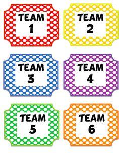 FREE team signs