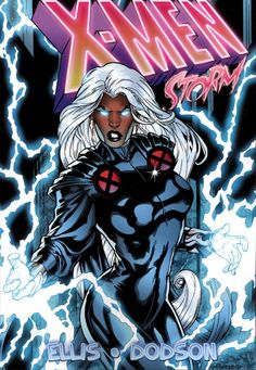 X-Men Storm TPB Marvel) By Ellis and Dodson comic books
