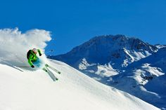 Perfect off piste
