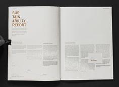 Annual report - Craft Victoria by Anders Bakken, via Behance
