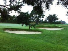 Greenside right at Hole 6 | Victoria Golf Club, Canada #twitterphotos #yyjphoto #golfcourse #westcoast #victoriagolfclub