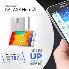 #Samsung Galaxy Note 3: Tecnologia e preço bom!