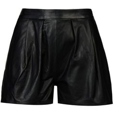 8 Shorts ($128) ❤ liked on Polyvore featuring shorts, bottoms, black, high-waisted shorts, 8 shorts, high waisted shorts, high-rise shorts and high rise shorts