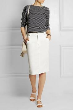 Denim Skirts   sheerluxe.com