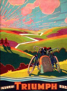 Cycles Triumph 1934