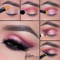 makeup ideas for a witch halloween makeup ideas halloween makeup ideas halloween makeup ideas eye makeup ideas makeup ideas womens makeup ideas makeup ideas Makeup 101, Makeup Goals, Makeup Inspo, Makeup Inspiration, Hair Makeup, Makeup Ideas, Makeup Eye Looks, Eye Makeup Steps, Pink Eyeshadow