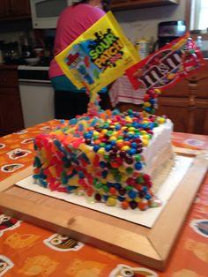 Nikos birthday cake