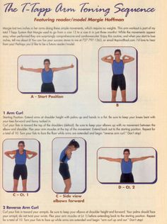 The T-Tapp Arm Toning Sequence… click for more exercises!