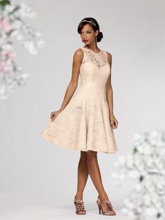 Jordan 661 from RK Bridal... This website has a ton of cute dresses, lots of color options, and a lot of them have different length options for the same dress. I just can't figure out how to pin them right now! :)