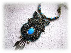 beaded owl by BéKata