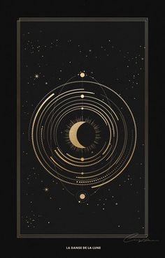 Art And Illustration, Moon Art, Grafik Design, Moon Child, Art Design, Stars And Moon, Night Stars, Sacred Geometry, Belle Photo