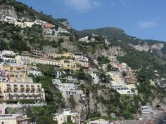 Positano: A City Built Into a Mountain Positano Hotels, Waterford City, Bus System, Rooftop Pool, Mediterranean Sea, Back In Time, Amalfi Coast, Paris Skyline, Dolores Park