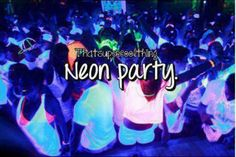 This will be us in high school you guys!!! Glow Dance here we come!!