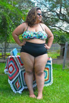 Roupa pra curtir o verão! Top + Calça (hot pant) #swimsuit #roupaprabanho #slowfashion #plussizefashion