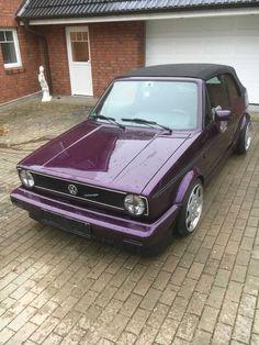 Golf 1 Cabrio, original Genesis, 1,8i / 1,8t Turbo, Porsche C2 Felgen, Top !!!