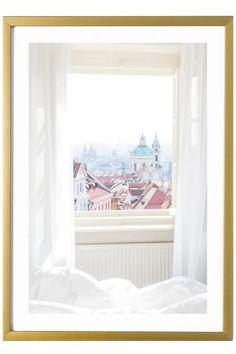 Prague Art Print - Janicka Czech Print 527 Photo. Aesthetic Art, Aesthetic Pictures, Pink Umbrella, Travel Wall Art, College Dorm Decorations, Palais Royal, Pastel Art, Bedroom Designs, Prague
