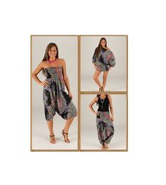 Pantagonna,abito e maglia in puro cotone stile spagnolo