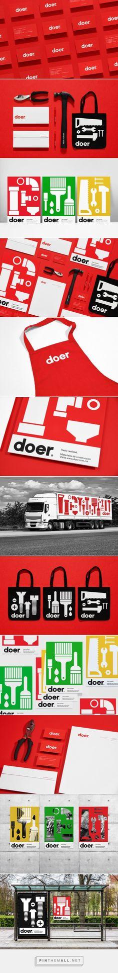 Doer Home Improvement Store Branding by Parámetro Studio | Logo Designer Bradenton, Web Design Sarasota, Tampa Fivestar Branding Agency #homeimprovement #branding #brand #brandinginspiration #design #advertising #designinspiration