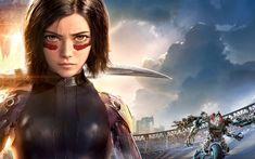 Alita movies 2019 - Alita: Battle Angel is a film visited by cyborgs based in the Iron Town dumpsite. This cyborg was taken and repaired by. Watercolor Wallpaper Iphone, Angel Wallpaper, Iphone Wallpaper Fall, Widescreen Wallpaper, Movie Wallpapers, Wallpaper Pc, Phone Wallpapers, Alita Movie, Tokyo Ghoul Pictures