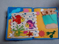 Quiet book Busy Book, Quiet Books, Felt Toys, Book Making, Book Pages, Handmade Decorations, Grandkids, Little Ones, Kid Stuff