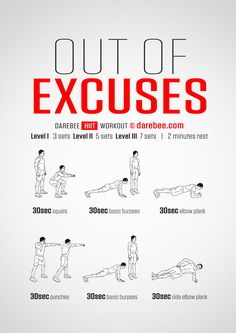 Out Of Excuses Workout