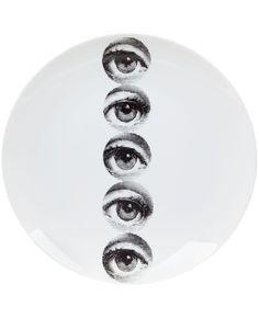Fornasetti plate, White