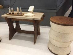 """Here's a headline I never thought I'd see:  """"Now you can buy gorgeous furniture made of mushrooms""""   Popular Science"""