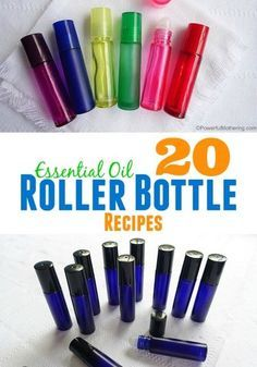 Top Twenty DoTERRA essential oil roller ball and roller bottle recipes. These are some amazing essential oil blends! Essential Oil Bottles, Doterra Essential Oils, Natural Essential Oils, Essential Oil Blends, Yl Oils, Essential Oils For Addiction, Natural Oils, Limpieza Natural, Roller Bottle Recipes