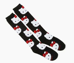 Hello Kitty Socks: Faces from Sanrio. Saved to Things I want as gifts. Shop more products from Sanrio on Wanelo. Sock Leggings, Tights, Hello Kitty Merchandise, Sock Monster, Hello Kitty Collection, Crazy Socks, Living Dolls, Sanrio Hello Kitty, Boot Socks