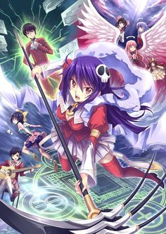 Kami nomi zo Shiru Sekai: Megami-hen (The World God Only Knows: Goddesses) || Loved this anime, read more about it here: http://www.animedecoy.com/2015/05/kami-nomi-zo-shiru-sekai-megami-hen.html ~