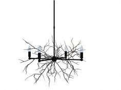 Twig Chandelier by G
