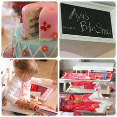 What a sweet little birthday party idea for little girls!