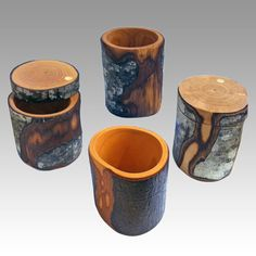 Oregon Alder Vases & Boxes - Linda Deardorff, Out of the Woods | Touchstone Gallery