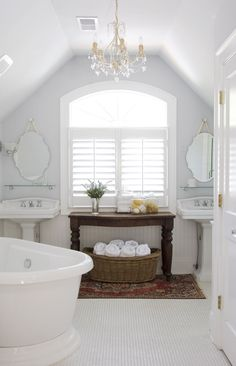 attic bathroom remodel-traditional bathroom by Brian Patterson Designs, Inc. Attic Rooms, Attic Spaces, Attic Bathroom, Bathroom Ideas, Bathroom Layout, Family Bathroom, Bathroom Designs, Bathroom Renovations, Bathroom Storage