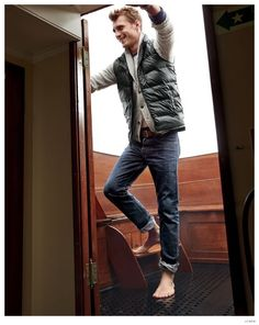 Clément Chabernaud Ventures Outdoors for J.Crews Rugged December 2014 Mens Style Guide image Clement Chabernaud Rugged Mens Styles JCrew December 2014 Guide 006
