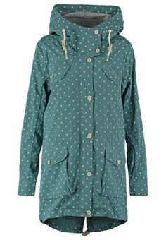 CLANCY - Parka - pine green Wolle Kaufen, Outfits Für Faule Tage, Kiefer, a5ed909d45