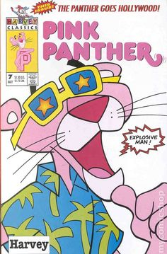 Pink Panther 1993 Harvey Harvey Comics publishing vintage comic book cover classic cartoon tv television show 7