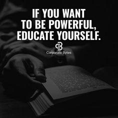 . #education #power