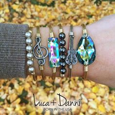NEW Luca + Danni bracelets, perfect for stacking and mixing and matching!